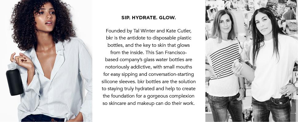 Amazon Bkr Best Original Glass Water Bottle Premium
