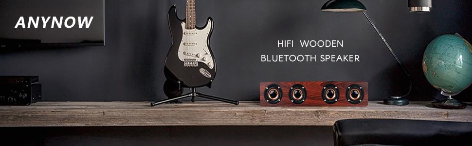 anynow hifi wooden speaker