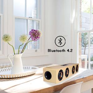 bluetooth speaker wood