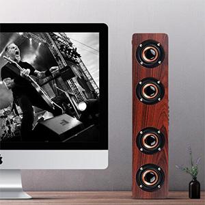 home speaker wood