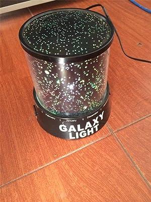 Amazon Com Lightahead Led Light Galaxy Star Projector