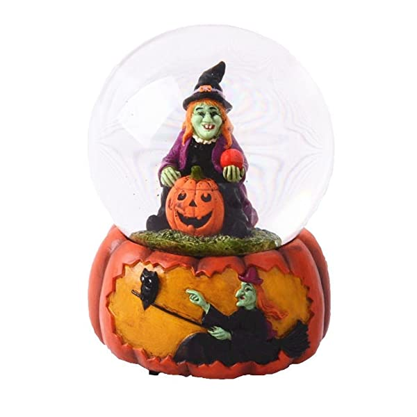 This Spooky Musical Halloween Water Globe Makes A Beautifully Detailed  Addition To Your Holiday Decor