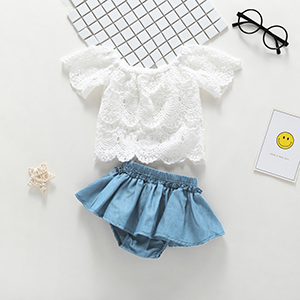 baby girl lace clothes