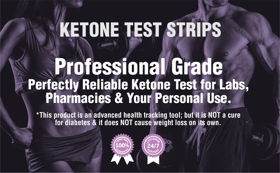 ketones tester urine strips keto ketosis blood test testing kit ketone meter breath analyzer strip