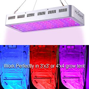 Amazon com : Hi-Sdard LED Grow Light 1000W, Full Spectrum Grow