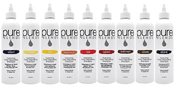 pure blends shampoos