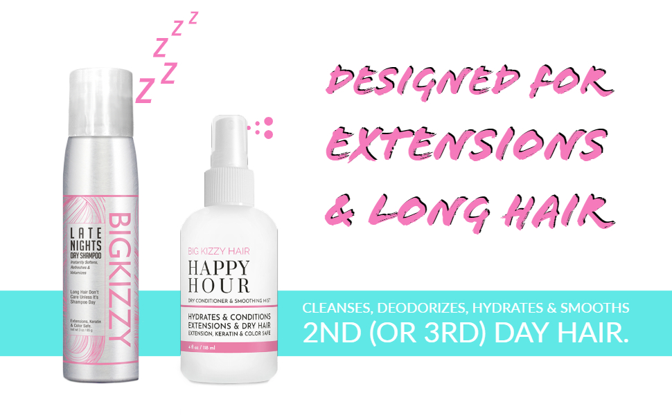 late night dry shampoo happy hour dry conditioner duo