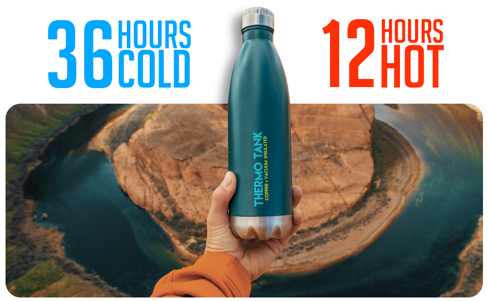 36 hours cold 12 hours hot bottle