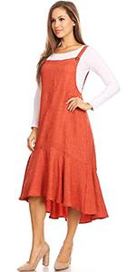 8114905fef Anna-Kaci Women's Casual Short Sleeve Solid Slit Party Wrap Midi Waist Tie  Dress · Anna-Kaci Women's Stretchy 3/4 Sleeve V Neck Button Ruffle Hem T  Shirt ...