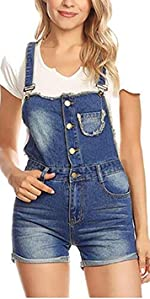 59482fbb038bcc Anna-Kaci Womens Distressed Denim Button Up Sleeveless Crop Vest at ...