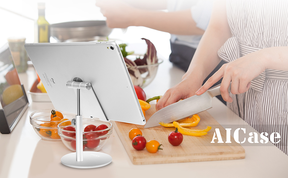 best gifts for cooking ipad kitchen stand adjustable bed stand  ipad pro holder stand