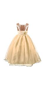 Sequin Princess Long Dress