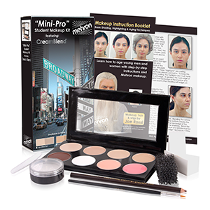 Mehron Makeup Mini Pro Makeup Kit Fair/Olive