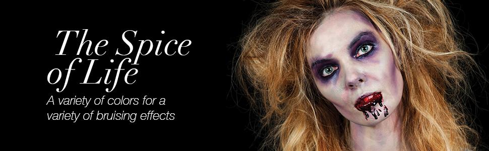 Mehron Makeup Bruise Effects