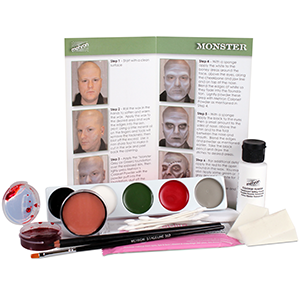 Mehron Makeup Character Kit Monster/Frankenstein