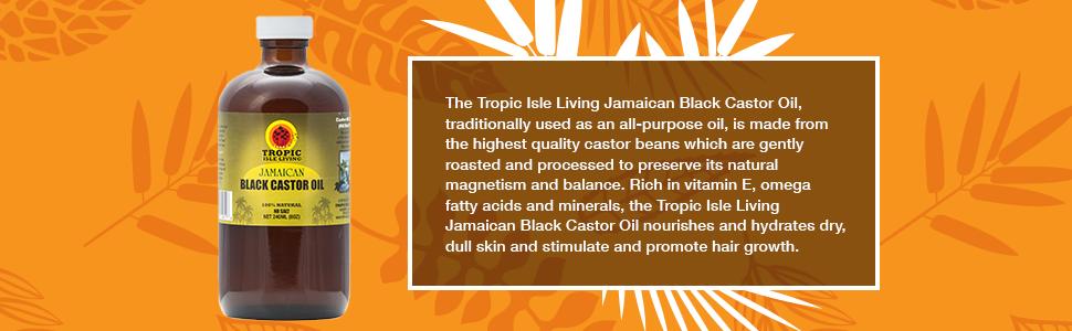 Tropic Isle Living Black Castor Oil