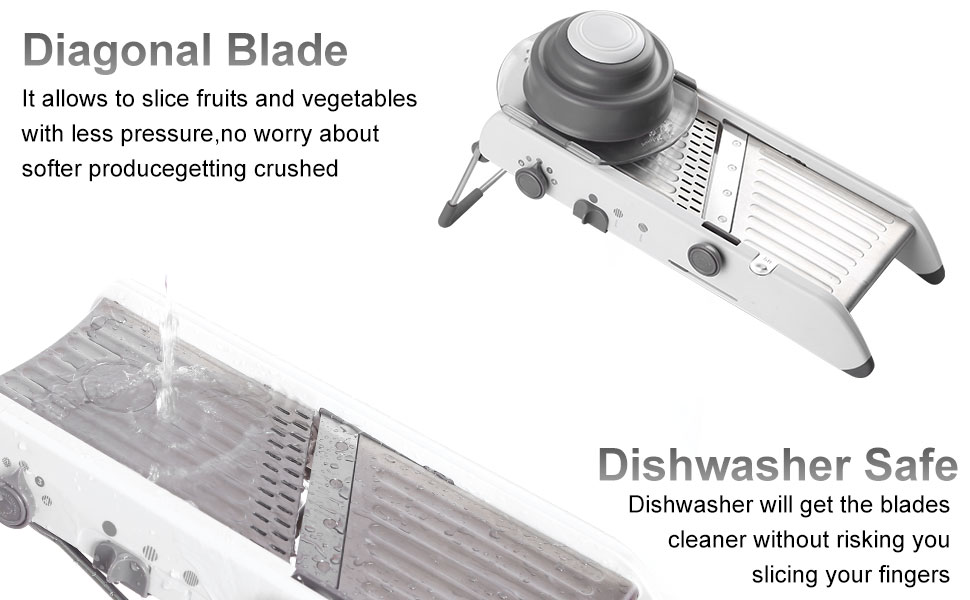 Amazon.com: KARIDGE cortador de mandolina de acero ...