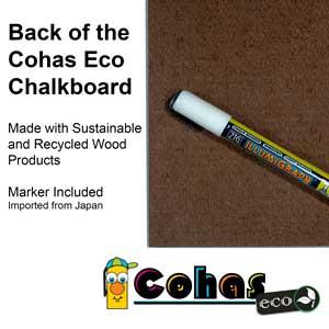 Amazon.com: Cohas Eco pizarra incluye pizarras sin marco ...
