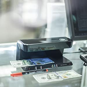 counterfeit detector system
