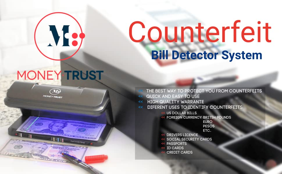 counterfeits bill detector