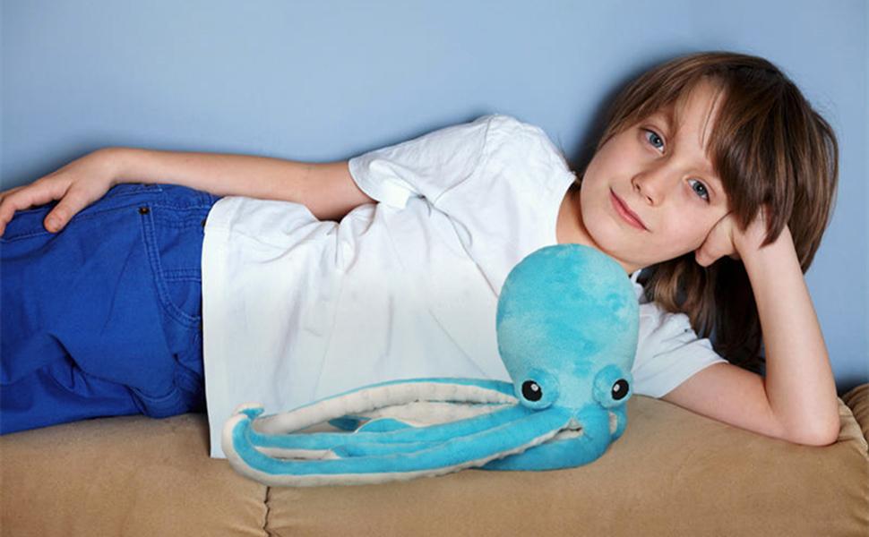 stuffed octopus for boy