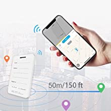 50m Bluetooth Range