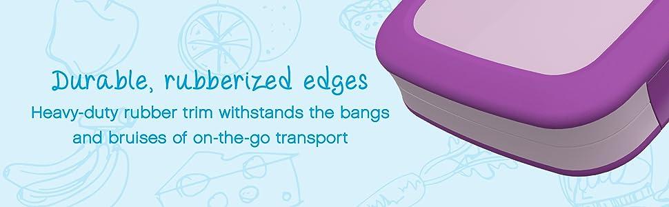 Bentgo Kids: Durable, Rubberized Edges