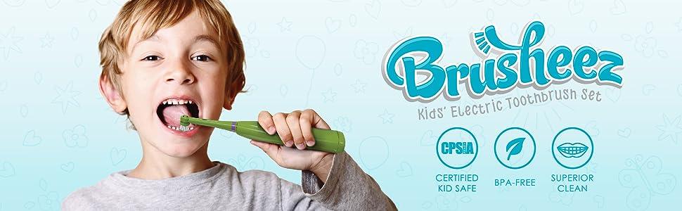 Brusheez Kids' Electric Toothbrush Set