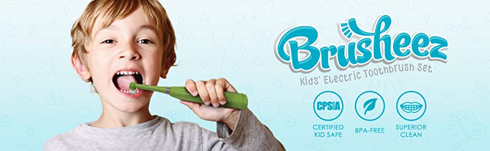 Brusheez Kids' Electric Toothbrush Set