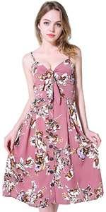 Button Front Beach Dress B07CT4CL1V.jpg