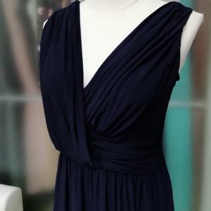 v neck sexy dress