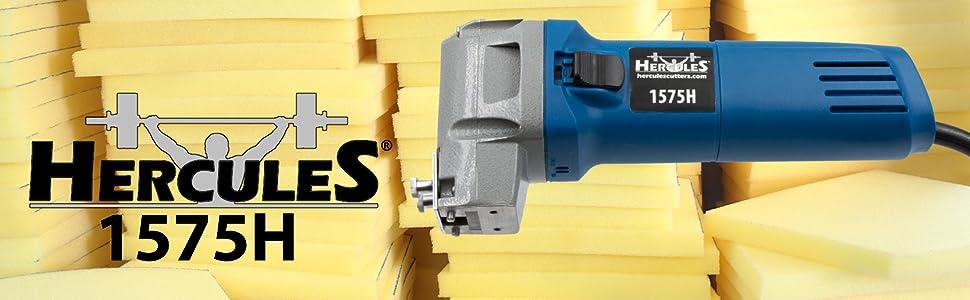 hercules 1575h foam rubber cutter cutting tool electric reciprocating saw flexible plastic bosch