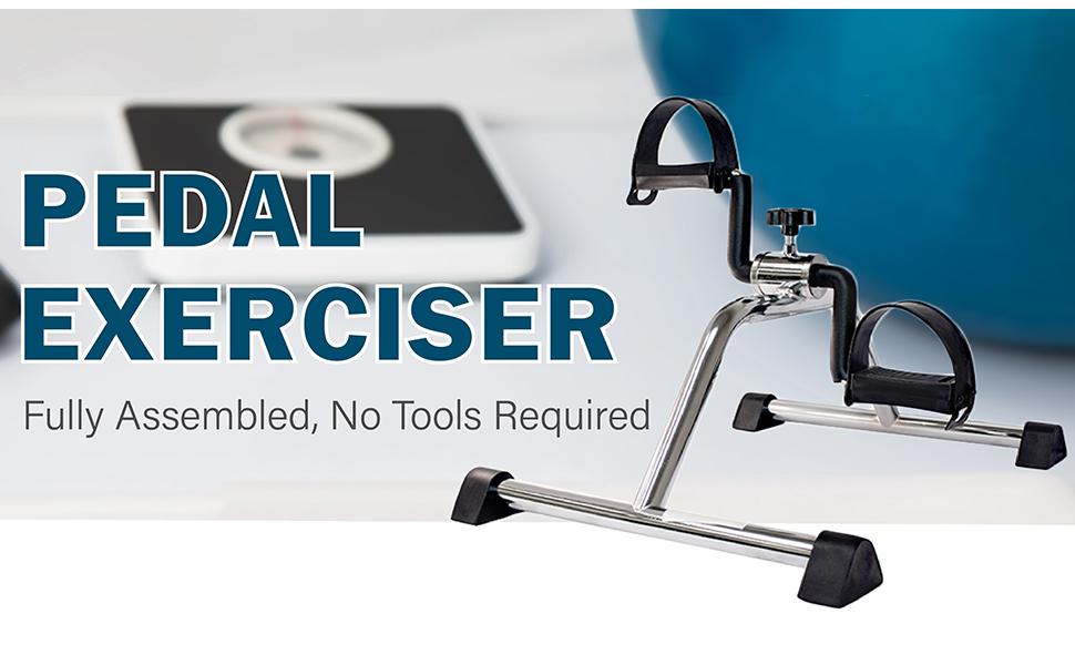 Vaunn Medical Pedal Exerciser_with Fitness background