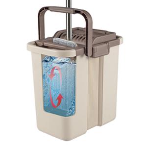 microfiber mop and bucket