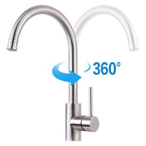 kitchen faucet single hole