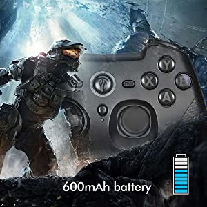 controller with battery