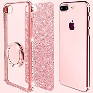 pink sparkly iphone 7 plus case