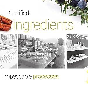 Certified Ingredients