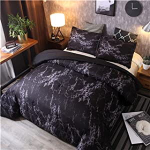Marble Ultra Soft Comforter Bedding Set - Novarian Creations