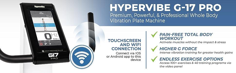 Hypervibe G17 Pro Whole Body Vibration Plate Machine