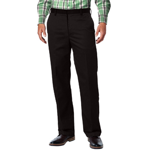 Match Men's Straight-fit Wrinkle-Resistant Flat Front Dress Pants