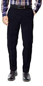 Classic Straight-Fit Dress Work Pant