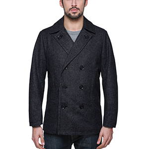 Match Mens Wool Classic Pea Coat Winter Coat at Amazon Men's ...
