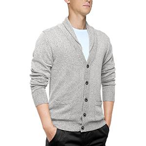 Match Men's K|G Series Shawl Collar Cardigan Sweater at Amazon ...