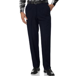 Men's Slim Fit Flat Front Dress Pant