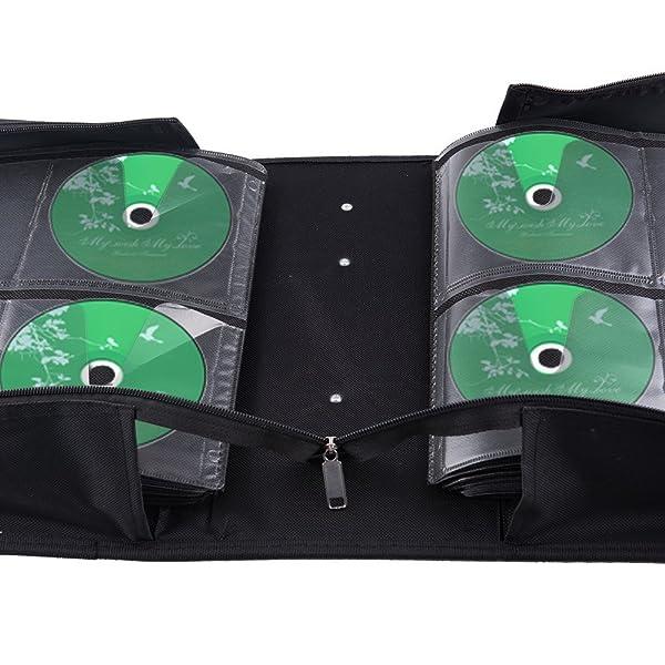 Amazon.com: fasmov poliéster 400 Disco CD/DVD cartón DVD ...