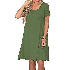 Army T-Shirt Dresses