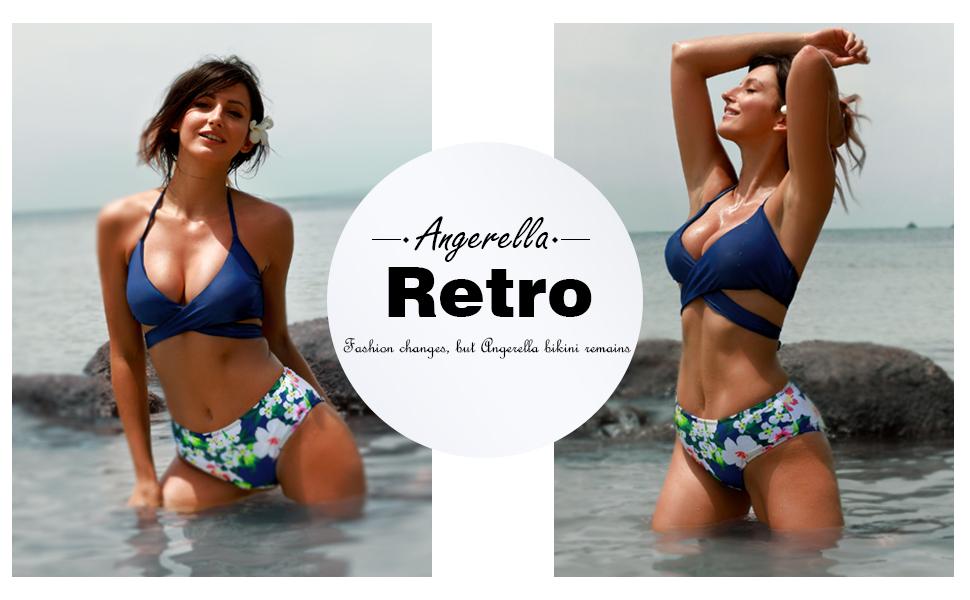 Amazon.com: Angerella traje de baño de dos piezas ...