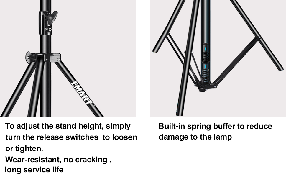 Adjust the stand height