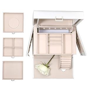 vlando City-Beauty Jewelry Box Organizer